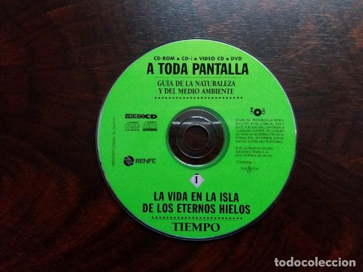 Coleccionismo de Revista Tiempo: GUíA INTERACTIVA DE LA NATURALEZA Y DEL MEDIO AMBIENTE. TIEMPO.1997. CAJA CON 6 CDs. - Foto 5 - 188716931