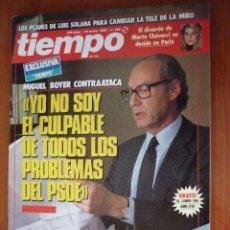 Coleccionismo de Revista Tiempo: REVISTA TIEMPO Nº 350, ENERO 89. Lote 189760988