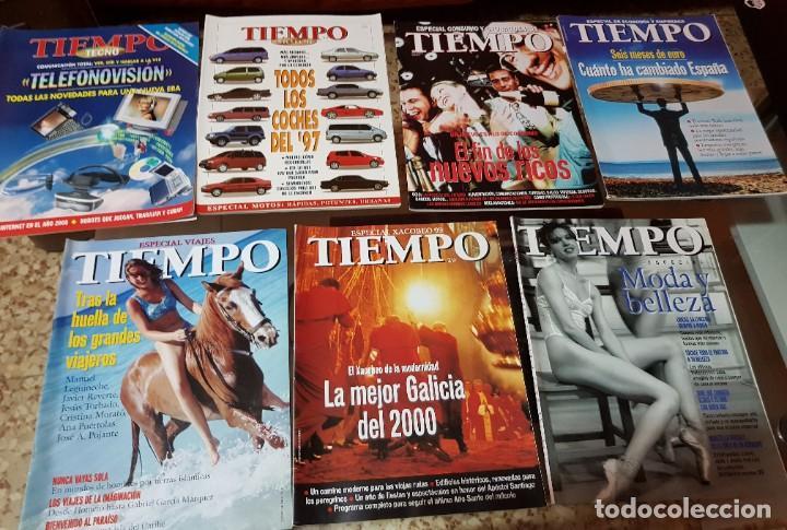 Coleccionismo de Revista Tiempo: LOTE 10 EXTRAS y OTRAS REVISTA TIEMPO - AÑOS 90 - Foto 2 - 190013627
