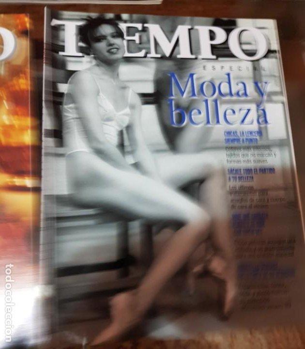 Coleccionismo de Revista Tiempo: LOTE 10 EXTRAS y OTRAS REVISTA TIEMPO - AÑOS 90 - Foto 3 - 190013627