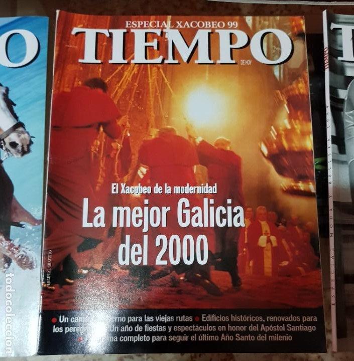 Coleccionismo de Revista Tiempo: LOTE 10 EXTRAS y OTRAS REVISTA TIEMPO - AÑOS 90 - Foto 4 - 190013627