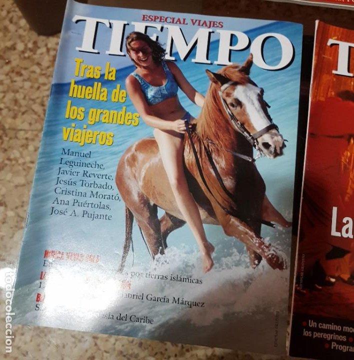 Coleccionismo de Revista Tiempo: LOTE 10 EXTRAS y OTRAS REVISTA TIEMPO - AÑOS 90 - Foto 5 - 190013627