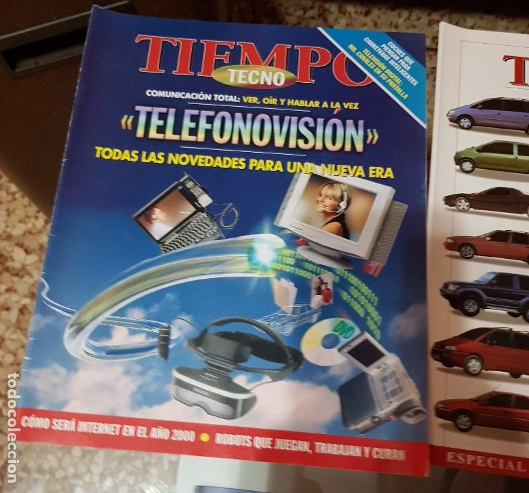 Coleccionismo de Revista Tiempo: LOTE 10 EXTRAS y OTRAS REVISTA TIEMPO - AÑOS 90 - Foto 6 - 190013627
