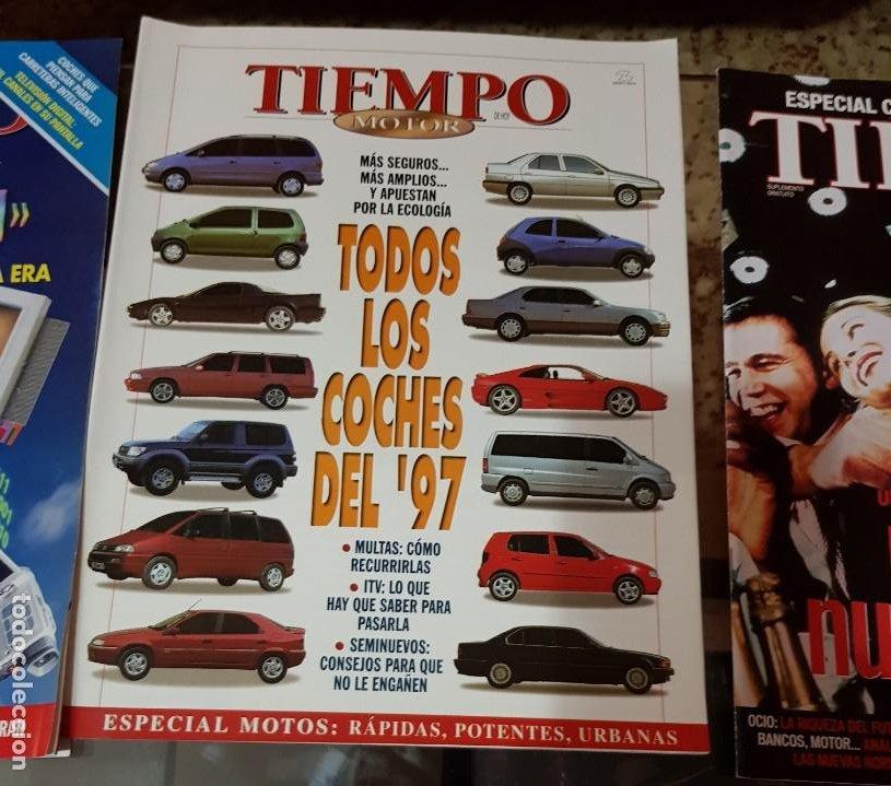 Coleccionismo de Revista Tiempo: LOTE 10 EXTRAS y OTRAS REVISTA TIEMPO - AÑOS 90 - Foto 7 - 190013627