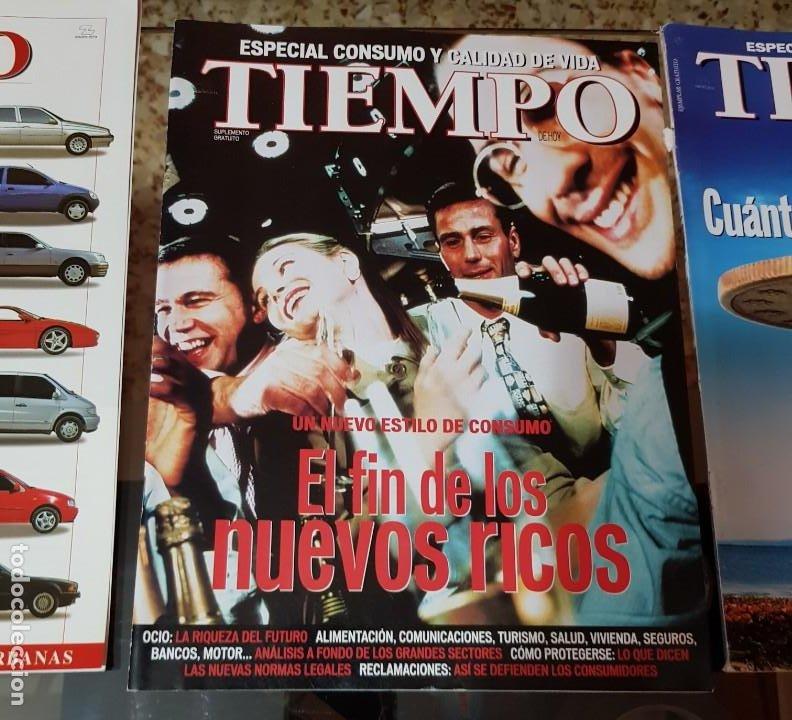 Coleccionismo de Revista Tiempo: LOTE 10 EXTRAS y OTRAS REVISTA TIEMPO - AÑOS 90 - Foto 8 - 190013627
