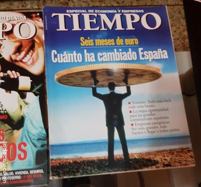 Coleccionismo de Revista Tiempo: LOTE 10 EXTRAS y OTRAS REVISTA TIEMPO - AÑOS 90 - Foto 9 - 190013627
