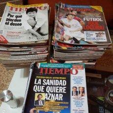 Coleccionismo de Revista Tiempo: LOTE 98 REVISTAS TIEMPO - AÑOS 90. Lote 190014466