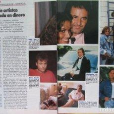 Coleccionismo de Revista Tiempo: RECORTE REVISTA TIEMPO Nº 336 1988 MECANO, ANA BELEN, MIGUEL BOSE, JULIO IGLESIAS...3 PGS. Lote 190180831
