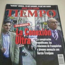 Coleccionismo de Revista Tiempo: REVISTA TIEMPO - NÚMERO 827 - 9 MARZO 1998 - LA CONEXIÓN ULTRA REF. GAR 265. Lote 190203508