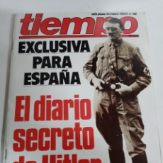 Coleccionismo de Revista Tiempo: DIARIO SECRETO HITLER.TIEMPO 9 MAYO 1983 NÚMERO 52. Lote 190519616