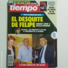 Coleccionismo de Revista Tiempo: TIEMPO. 8 -6-1992. EL DESQUITE DE FELIPE GONZALEZ POR LA HUELGA DEL 28 M. VER SUMARIO. Lote 191376910