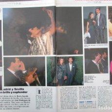 Coleccionismo de Revista Tiempo: RECORTE REVISTA TIEMPO Nº 337 1988 ROCIO JURADO. Lote 191576521
