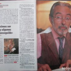 Coleccionismo de Revista Tiempo: RECORTE REVISTA TIEMPO Nº 337 1988 JESUS AGUIRRE DUQUE DE ALBA 3 PGS. Lote 191576768
