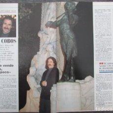 Coleccionismo de Revista Tiempo: RECORTE REVISTA TIEMPO Nº 342 1988 LUIS COBOS. Lote 191577138