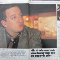 Coleccionismo de Revista Tiempo: RECORTE REVISTA TIEMPO Nº 342 1988 JAVIER GURRUCHAGA 3 PGS. Lote 191577341
