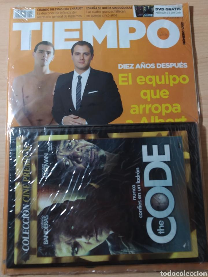 REVISTA TIEMPO N 1702 AÑO 2015 + DVD CODE. NUEVO (Coleccionismo - Revistas y Periódicos Modernos (a partir de 1.940) - Revista Tiempo)