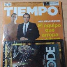 Coleccionismo de Revista Tiempo: REVISTA TIEMPO N 1702 AÑO 2015 + DVD CODE. NUEVO. Lote 192608806