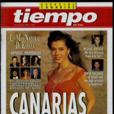 Coleccionismo de Revista Tiempo: REVISTA TIEMPO - SUPLEMENTO AL Nº 604 - 1993 - ESPECIAL CANARIAS - EN PERFECTO ESTAD. Lote 192841841