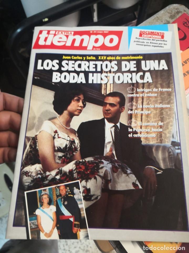 REVISTA TIEMPO DE HOY. NÚMERO EXTRA. 24 MAYO 1987 (Coleccionismo - Revistas y Periódicos Modernos (a partir de 1.940) - Revista Tiempo)