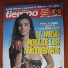 Coleccionismo de Revista Tiempo: REVISTA TIEMPO Nº 347, ENERO 89. Lote 194658166