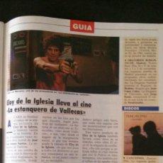 Coleccionismo de Revista Tiempo: ELOY DE LA IGLESIA-MASSIEL-UN DOS TRES-VIGO-MISS ESPAÑA REMEDIOS CERVANTES-PILAR MIRÓ. Lote 196337043
