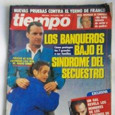 Coleccionismo de Revista Tiempo: REVISTA TIEMPO N° 321 MARIO CONDE PAUL NEWMAN. Lote 196559198