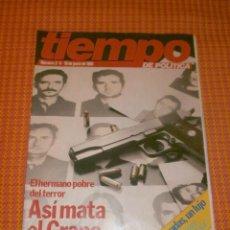 Coleccionismo de Revista Tiempo: REVISTA TIEMPO DE POLITICA NÚMERO 2/4-10 DE JUNIO DE 1981.. Lote 196654893