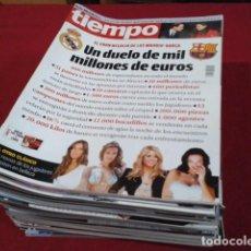 Coleccionismo de Revista Tiempo: LOTE 34 REVISTAS ( TIEMPO ) 2010 - 11 CUIDADAS VER FOTOS. Lote 197483473