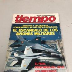 Coleccionismo de Revista Tiempo: TIEMPO. Lote 200654271