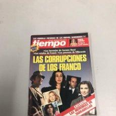 Coleccionismo de Revista Tiempo: TIEMPO. Lote 201178928