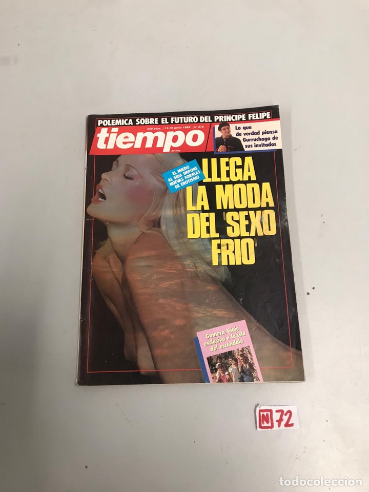 TIEMPO (Coleccionismo - Revistas y Periódicos Modernos (a partir de 1.940) - Revista Tiempo)