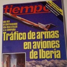 Colecionismo da Revista Tiempo: REVISTA TIEMPO N 80 ALASKA AVIADOR DRO EJECUTIVOS AGRESIVOS GOLPES BAJOS MOVIDA MADRILEÑA ETA FRANCO. Lote 203184013