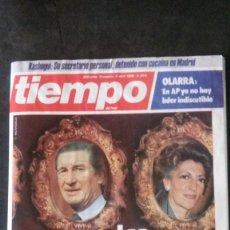 Coleccionismo de Revista Tiempo: ELOY DE LA IGLESIA-SARA MONTIEL-JOSÉ TAMAYO-ALAIN DELON- UN DOS TRES-MARISA BERENSON-SEMANA SANTA. Lote 203413303