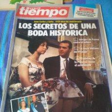 Coleccionismo de Revista Tiempo: REVISTA EXTRA TIEMPO-LOS SECRETOS DE UNA BODA HISTORICA. Lote 204172937