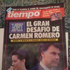Coleccionismo de Revista Tiempo: REVISTA TIEMPO - MISS ESPAÑA-FERNANDO TRUEBA-STEFFI GRAF- INMA DE SANTIS -EMILIO BUTRAGUEÑO. Lote 207352052