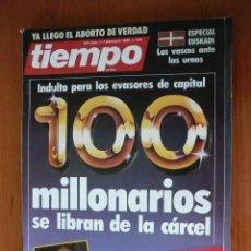 Coleccionismo de Revista Tiempo: REVISTA TIEMPO Nº 238, DICIEMBRE 86. ESPECIAL. Lote 208216938