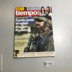 Coleccionismo de Revista Tiempo: REVISTA TIEMPO. Lote 208407085