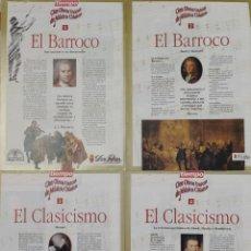 Coleccionismo de Revista Tiempo: CIEN OBRAS UNICAS DE MUSICA CLASICA (10 NUMEROS). Lote 209026612