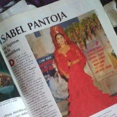 Coleccionismo de Revista Tiempo: REPORTAJE REVISTA TIEMPO ISABEL PANTOJA AÑOS 90, SÓLO REPORTAJE. Lote 209064680