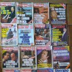 Collectionnisme de Magazine Tiempo: LOTE 20 REVISTAS TIEMPO DE HOY AÑOS 80 L.2. Lote 210372166