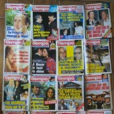Collectionnisme de Magazine Tiempo: LOTE 20 REVISTAS TIEMPO DE HOY AÑOS 80 L.3. Lote 210373393