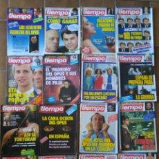 Collectionnisme de Magazine Tiempo: LOTE 20 REVISTAS TIEMPO DE HOY AÑOS 80 L.5. Lote 210376616
