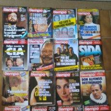 Coleccionismo de Revista Tiempo: LOTE 20 REVISTAS TIEMPO DE HOY AÑOS 80 L.6. Lote 210379151