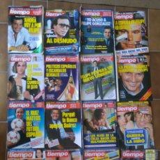 Coleccionismo de Revista Tiempo: LOTE 20 REVISTAS TIEMPO DE HOY AÑOS 80 L.7. Lote 210379996