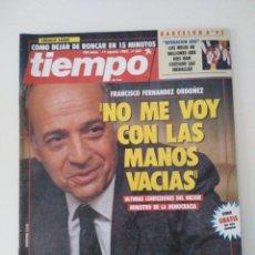 Coleccionismo de Revista Tiempo: REVISTA TIEMPO. N° 537 AGOSTO 1992. Lote 211825635