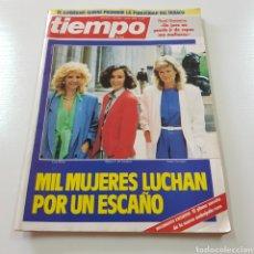 Coleccionismo de Revista Tiempo: TIEMPO DE HOY N° 211 AÑO 1986 MILMUJERES LUCHAN POR UN ESCAÑO. Lote 217883301