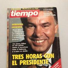 Coleccionismo de Revista Tiempo: TIEMPO. Lote 218850858