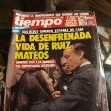 Coleccionismo de Revista Tiempo: REVISTA TIEMPO DE HOY N° 399 (25 DICIEMBRE 1989). Lote 219241280