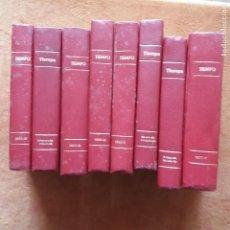 Coleccionismo de Revista Tiempo: TIEMPO DEL Nº 1 AL 85 ( MAYO 82 A DICIEMBRE 83) ENCUADERNADOS. Lote 220392436