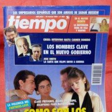 Coleccionismo de Revista Tiempo: REVISTA TIEMPO N°463 - 18 DE MARZO 1991. Lote 220596747